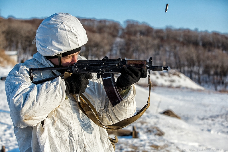 Shooting Exercises of Marines