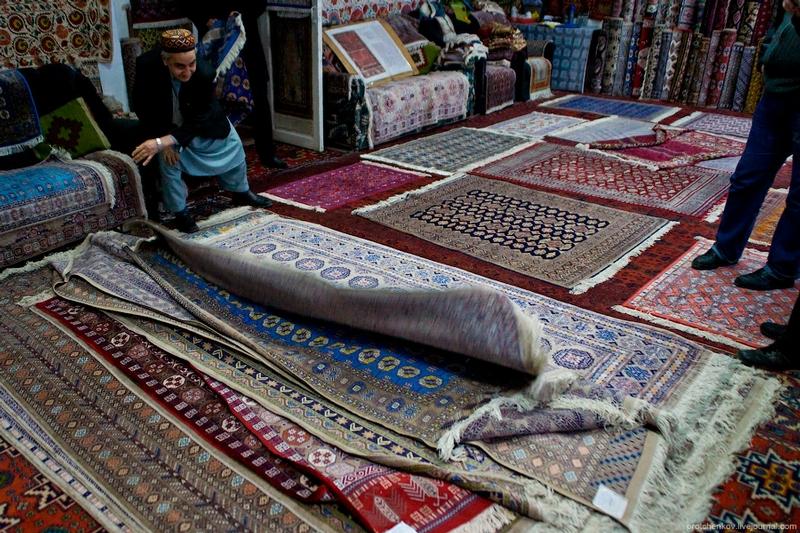Carpets And Silk Paper Of Samarkand