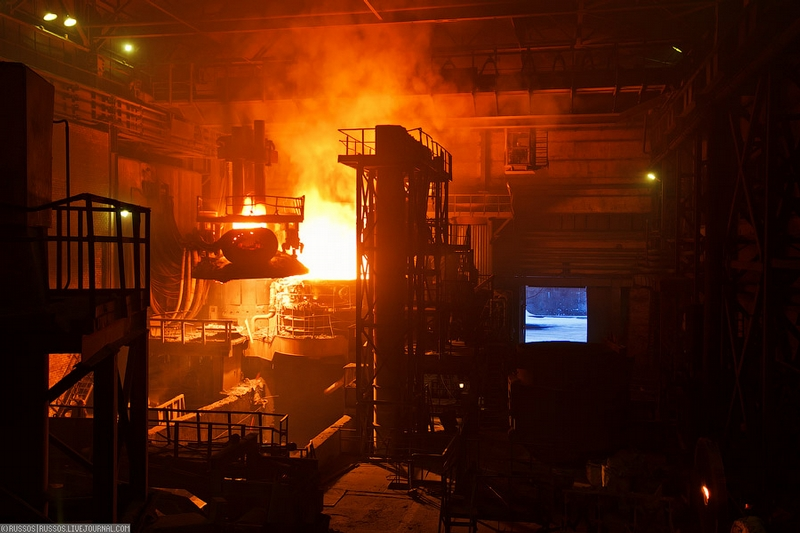 Mini Steel Foundry Or Artificial Hell