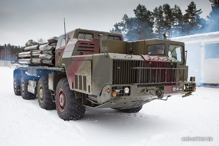 Highly Efficient Military Vehicle From the 80s