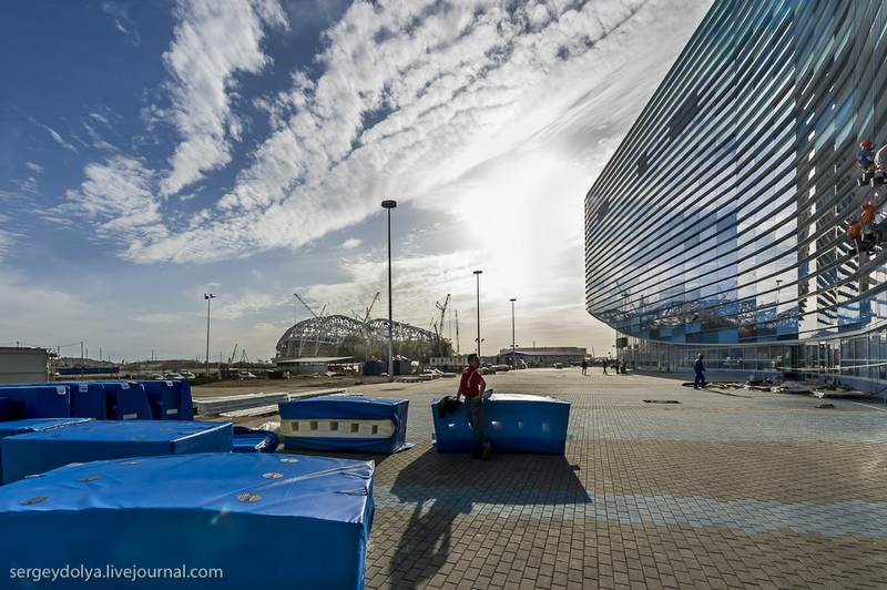 Sochi Olympic Objects Today