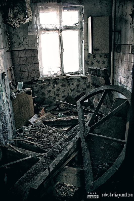 Abandoned Military Town