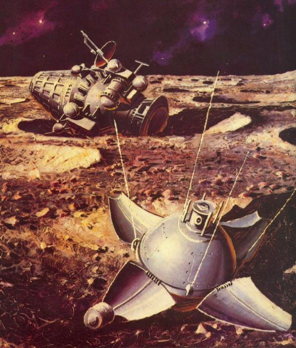 The Soviet Luna 9 Spacecraft