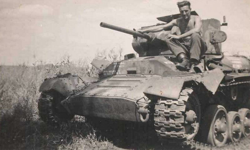 Disabled And Abandoned Soviet Tanks