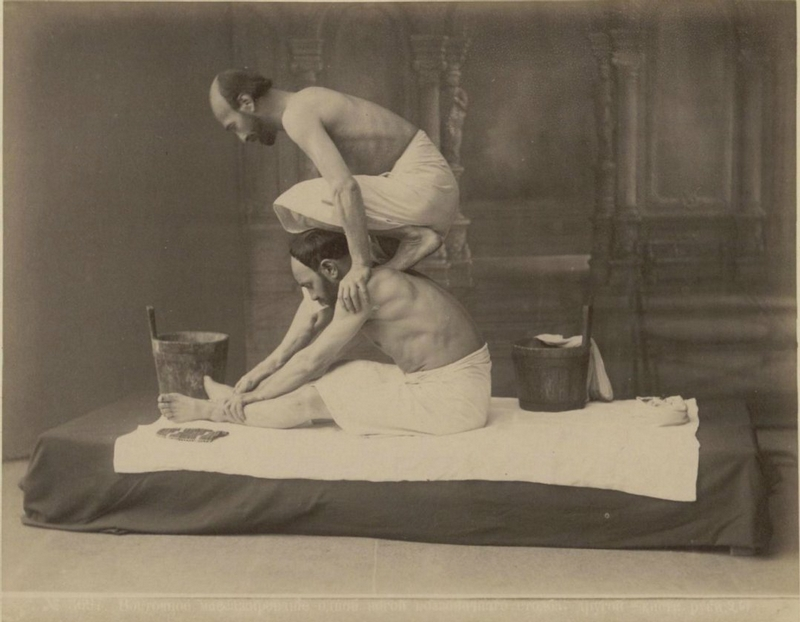 Massage In Baths of Tbilisi 1890 | English Russia