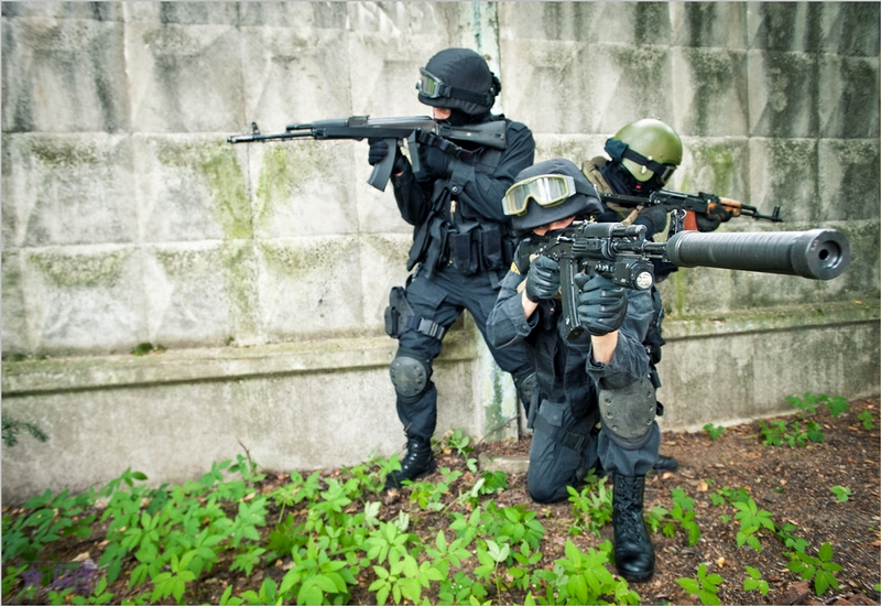 Moscow Special Forces At Work
