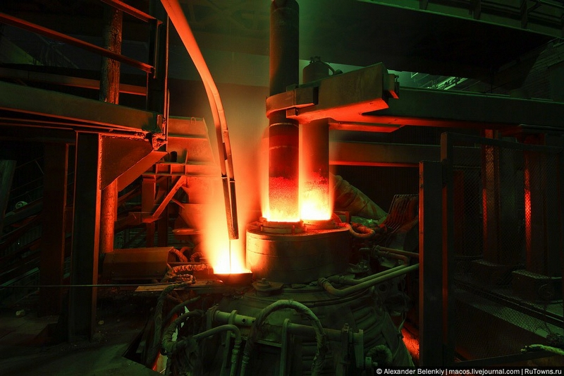Here They Harden Steel