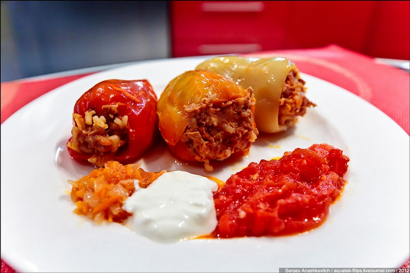 Dish of the Fall: Stuffed Peppers