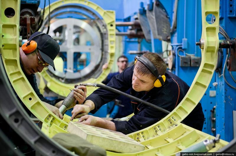 Production of Su-34 In Novosibirsk