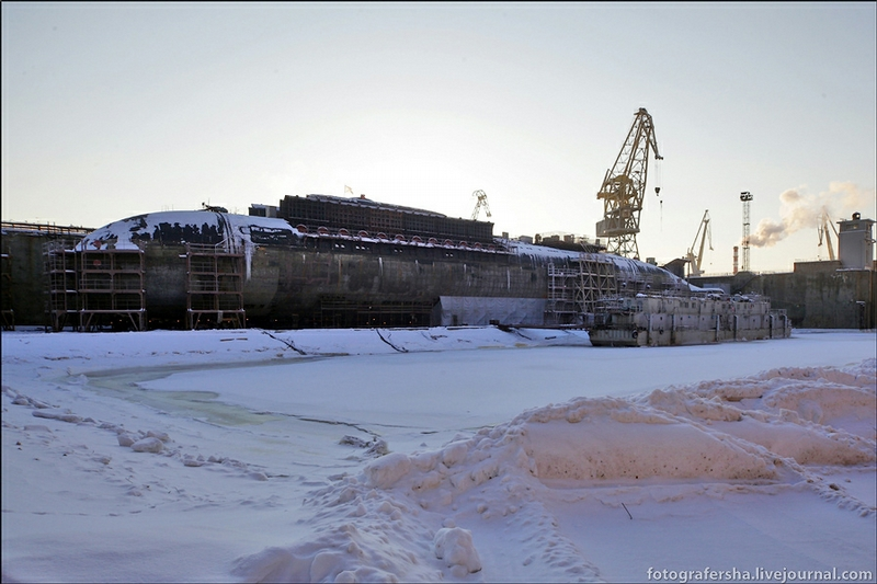 Visiting Leading Shipbuilding Enterprises Of Russia