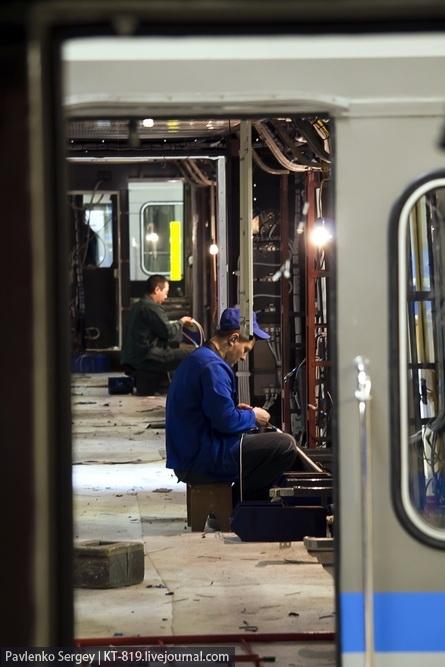 Subway Cars Production