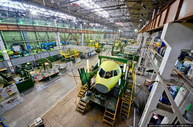Production of Sukhoi Superjet 100