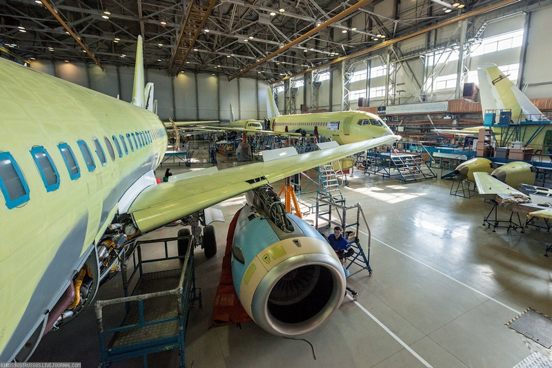 How the Sukhoi Superjets Are Being Built