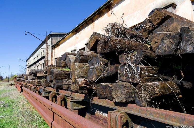 Sukhum Depot of the Armenian Railway