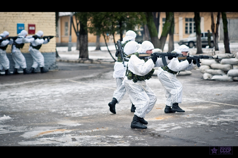 Life of the Russian SWAT