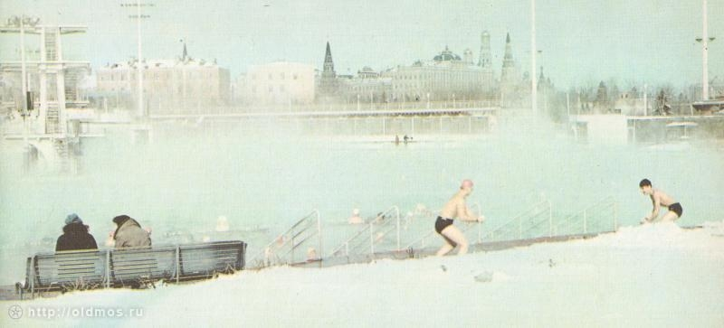 Swimming In The Frost