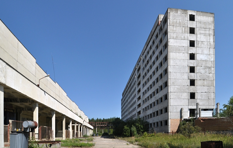The Unfinished Science Town Near Moscow
