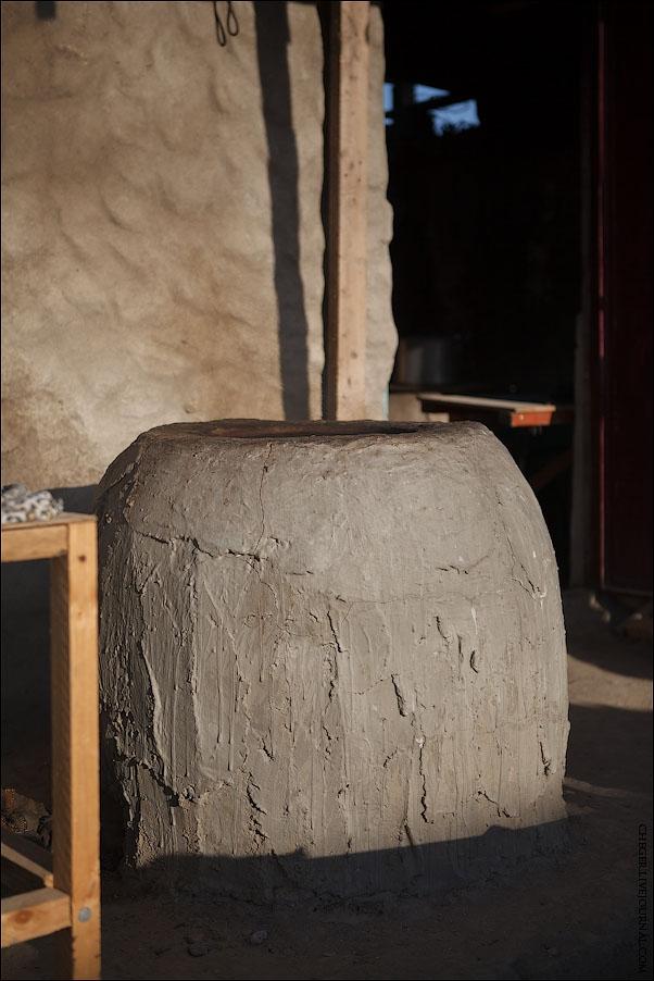 Making Bread In a Tandoor