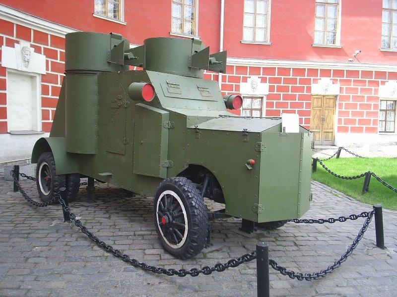 Tanks of the Russian Empire