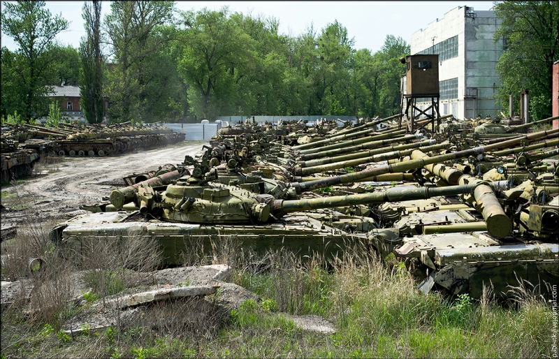 Tanks Ovehaul Depot in Kharkiv