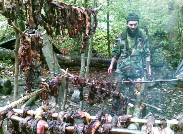 Life of Terrorists In the Forest