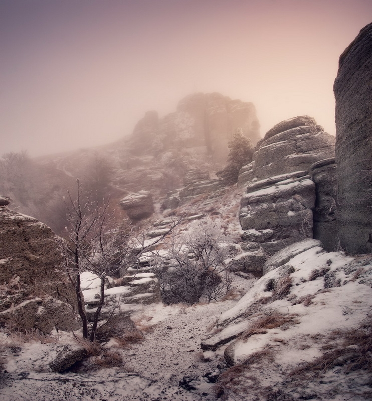 The Crimea In Winter