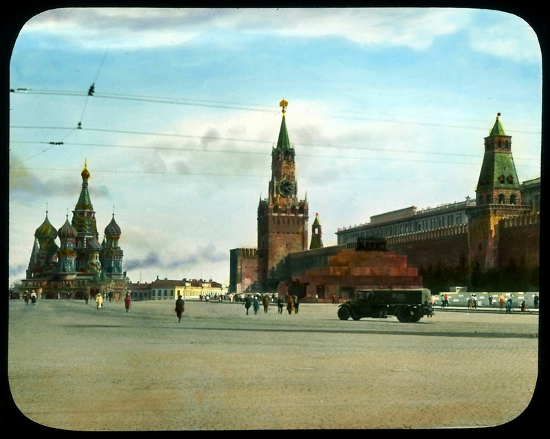 Moscow of 1931 In Photos Of Branson DeCou