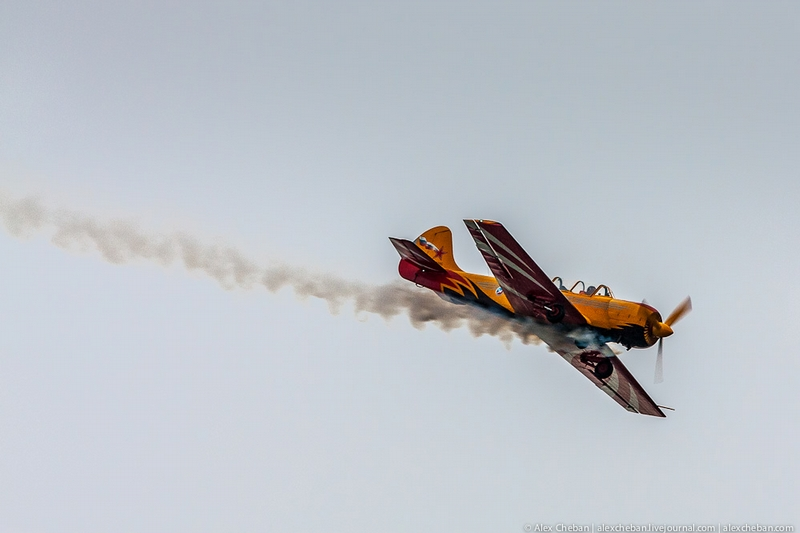 Russian Aerobatic Teams In Kiev