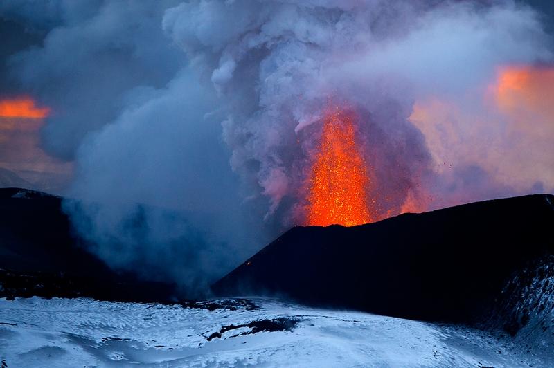 New Eruption of Tolbachik Volcano