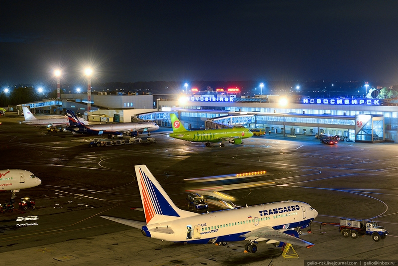 The Largest Siberian Airport