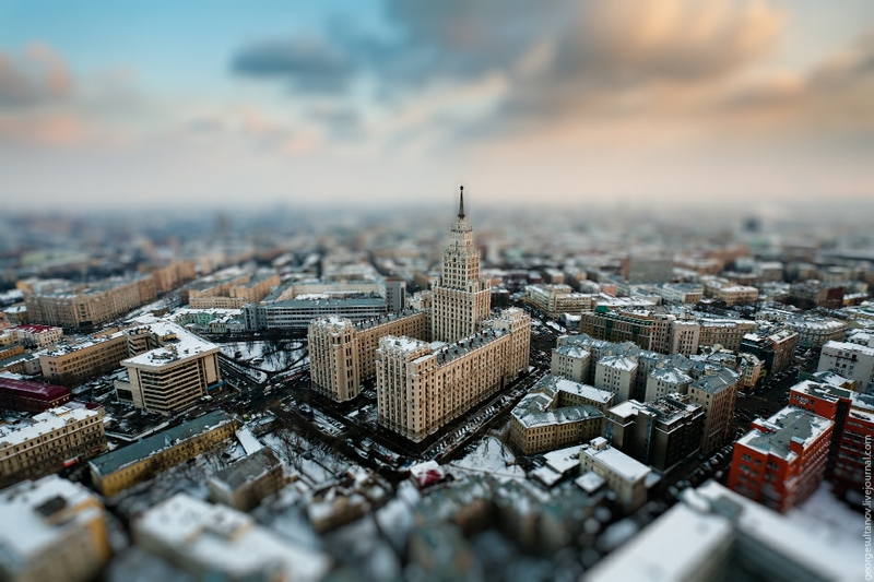 Amber And Tilt-Shift Moscow