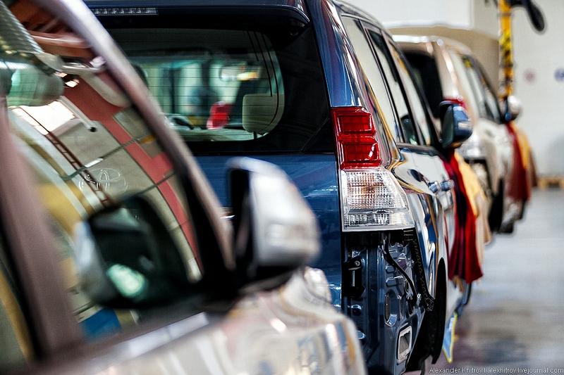 Pilot Project: 25000 Toyota Suvs a Year
