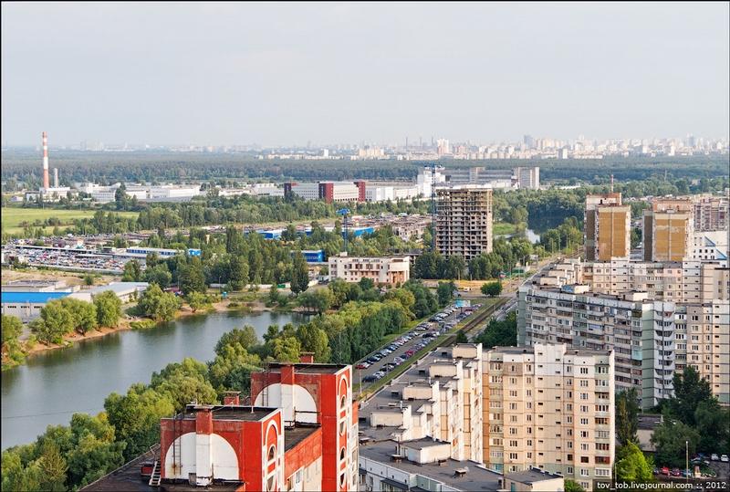 Most Unattractive Area of Kiev