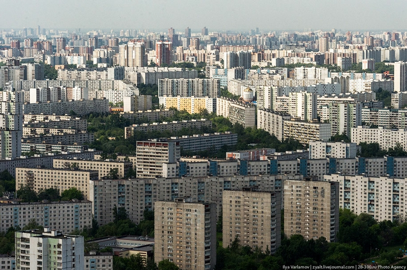 Moscow From Above: True Colors