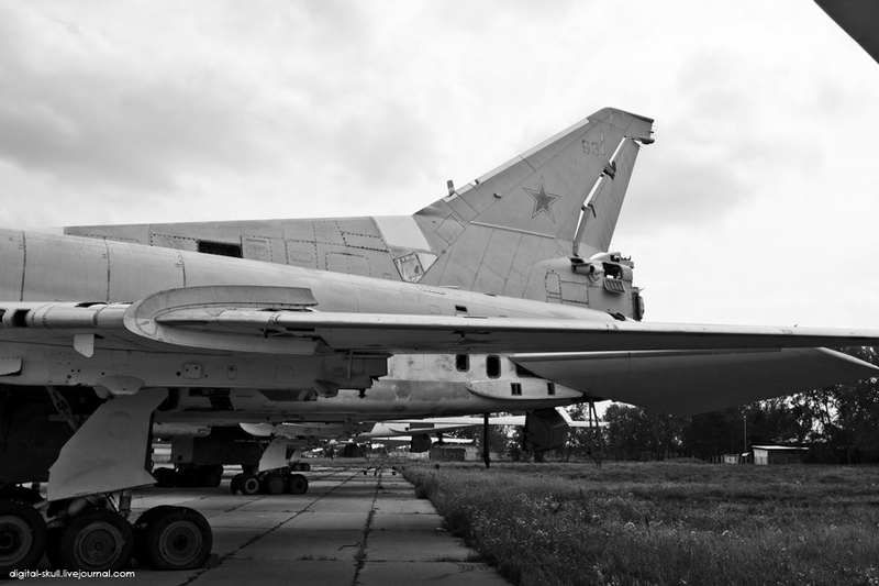 This Tu 22M3 Will Not Fly Anywhere Now [20 photos]
