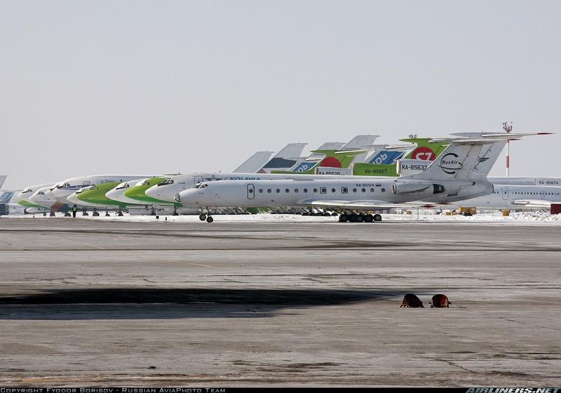 Tupolev Planes