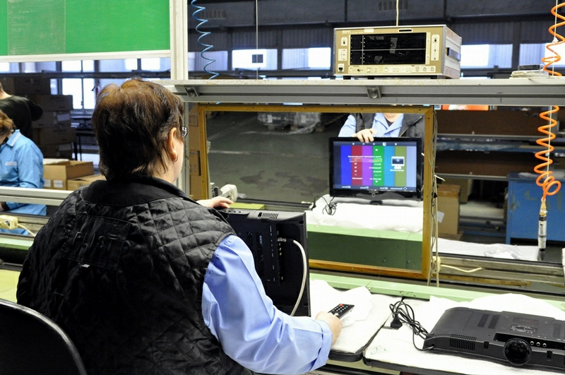 Japanese TV Sets Produced in Russia
