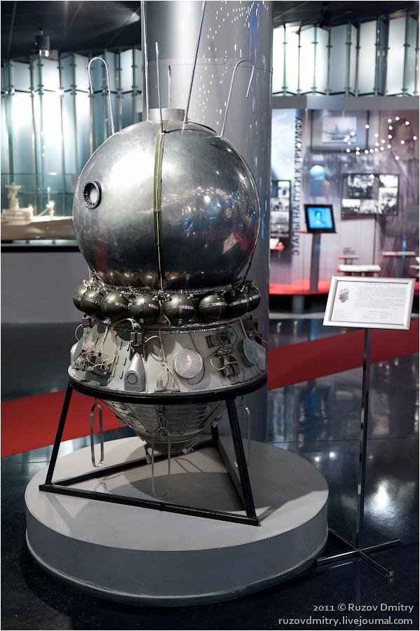 Underground Museum Of Astronautics In Moscow