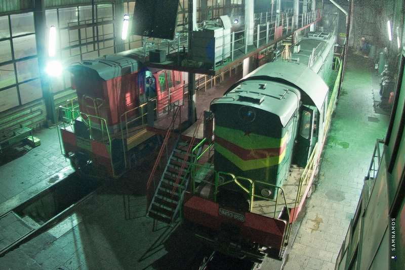 Metro Trains And Steam Engines: Present And Past