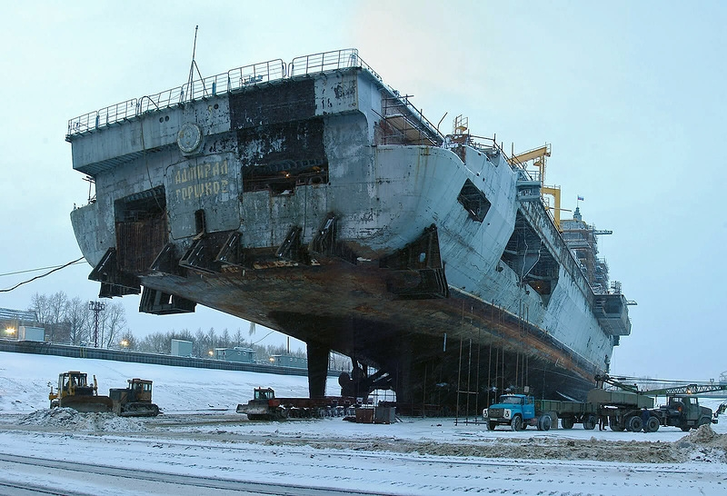 deep modernization of the airborne cruiser english russia