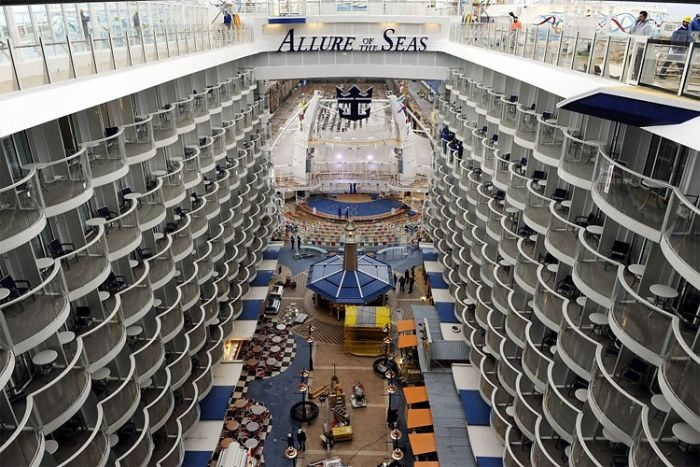 Allure of the Seas, Worlds Largest Cruise Ship