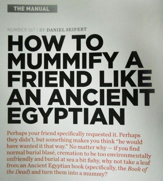 Hоw Tо Mummify а Friend