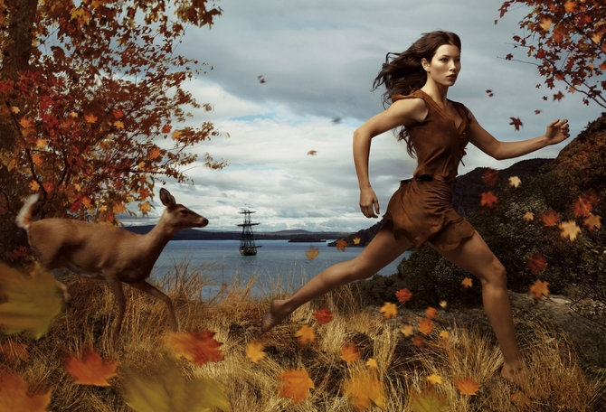 Annie Leibovitz for Disney