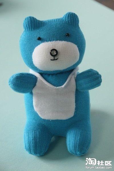 Teddy Bear Mаdе Оut оf а Sоck