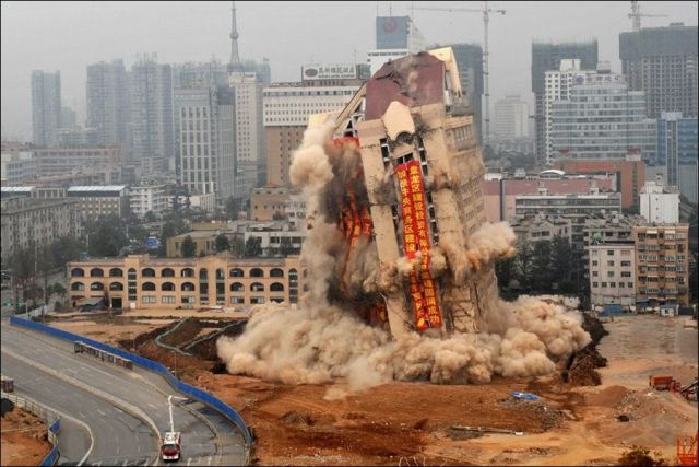 Big Explosion in China
