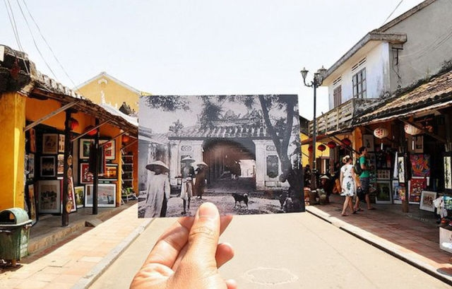 Amazing Photos Blend the Past and the Present of Vietnam