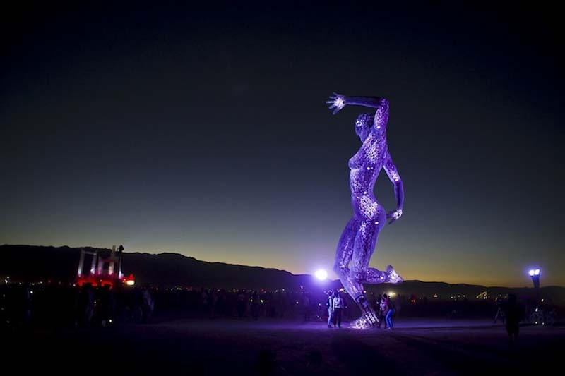 Burning Man Sculptures