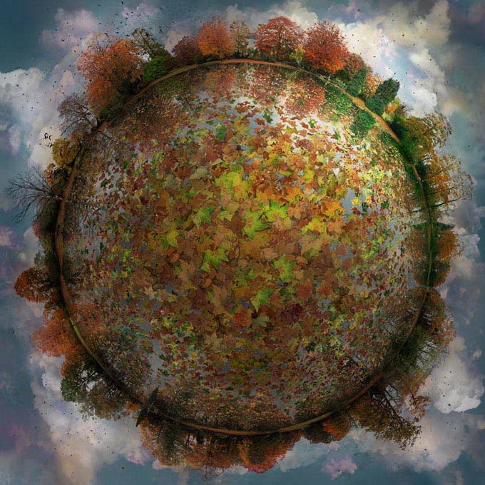 """Little Planet"" By Catherine Nelson"
