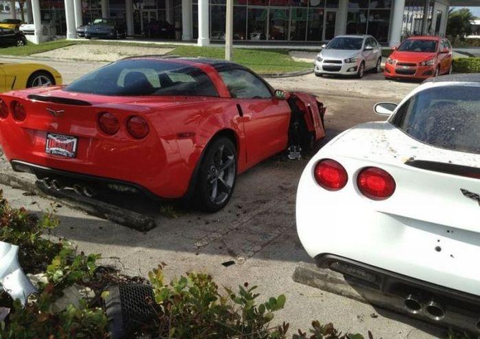 Crаshеd Chеvrоlet Corvettes