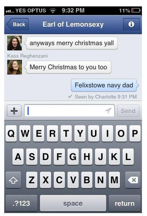 Christmas Autocorrects